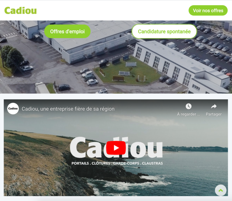 Site carrière de Cadiou