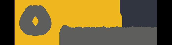 Logo golden bees